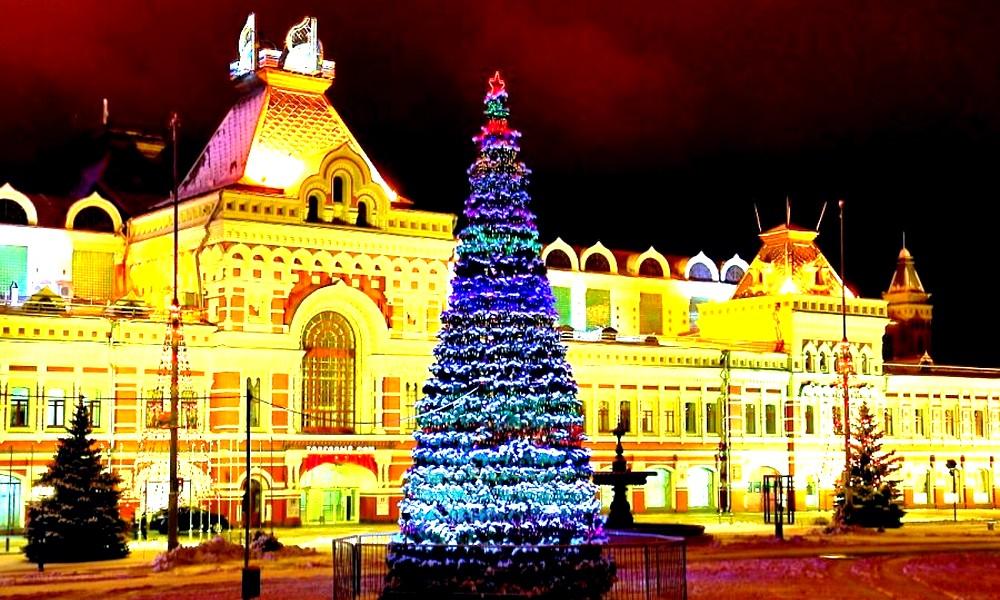 Смотри! Новый год 2019 в Нижнем Новгороде: где отметить, обзор мест в 2019 году